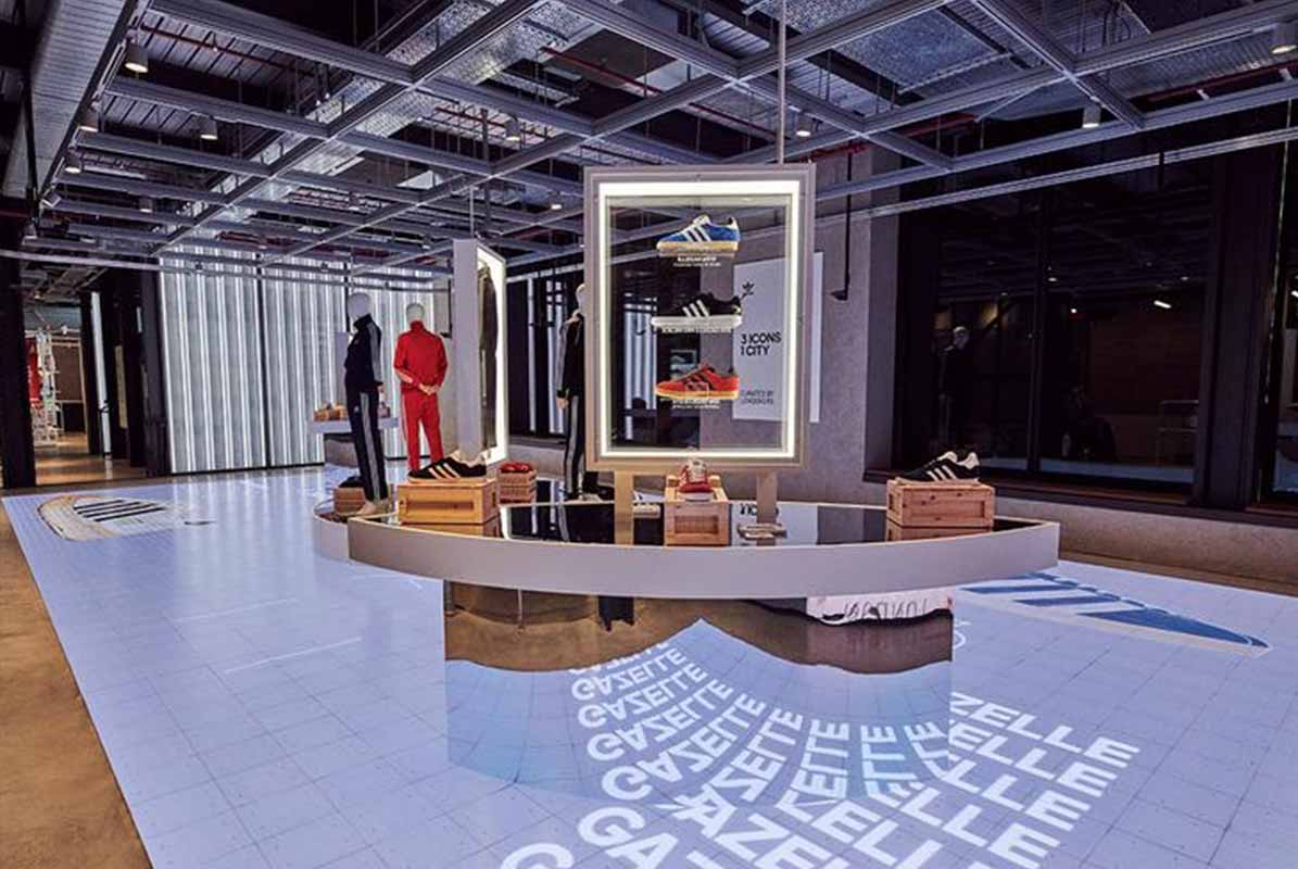 Adidas Open New Immersive Oxford St Store