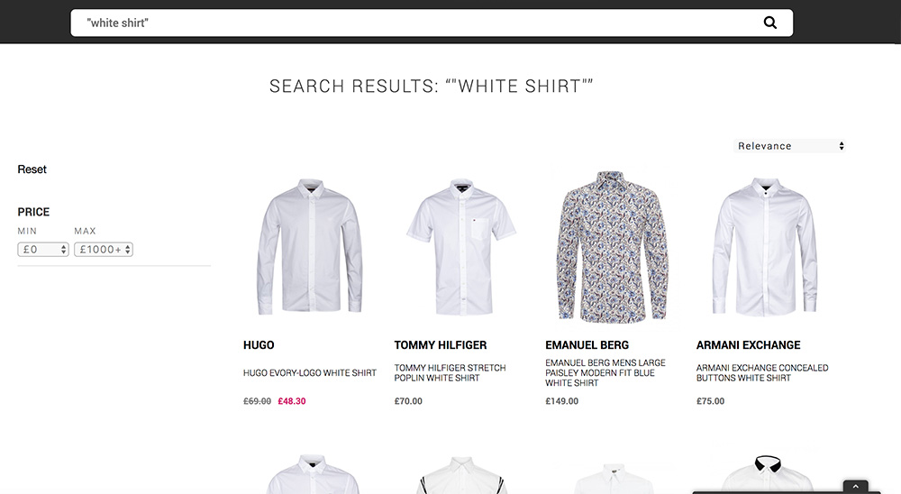 The Hoxton Trend white shirt search