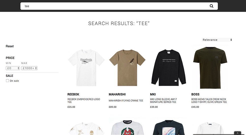 The Hoxton Trend Tee search