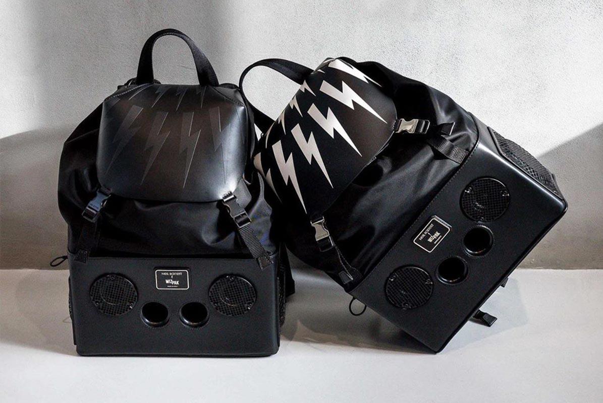 Take A Look At The New Neil Barrett x Wizpak Boombox Backpack