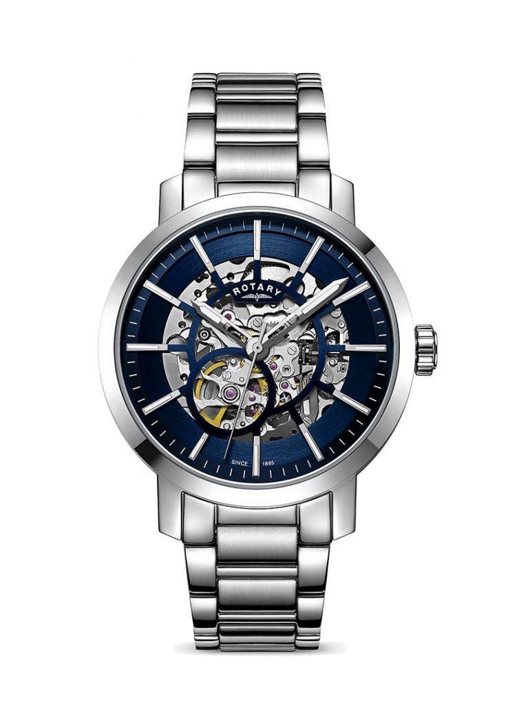 Rotary Men's Greenwich Skeleton watch