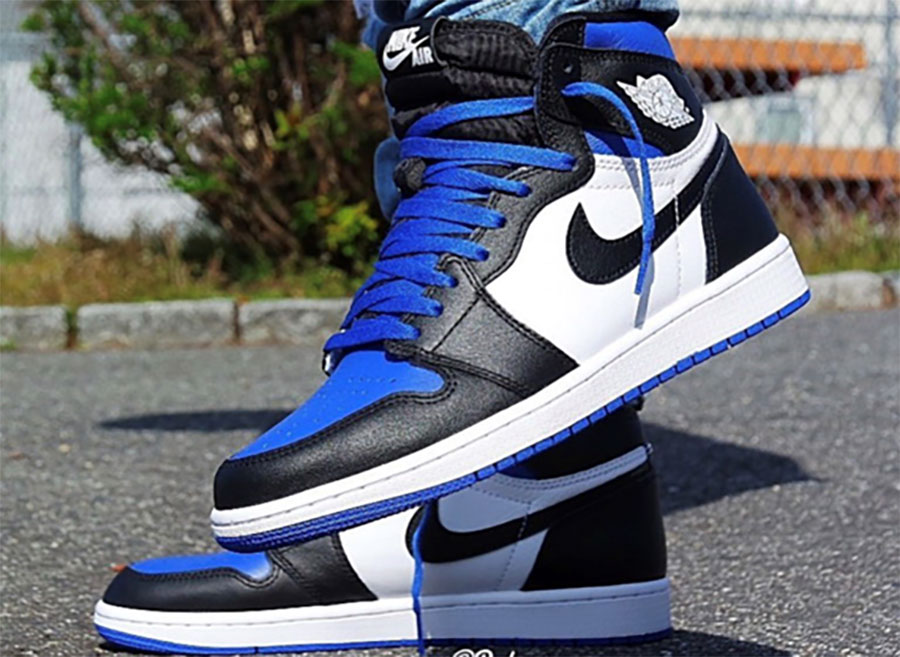 Air Jordan 1 White Royal 1