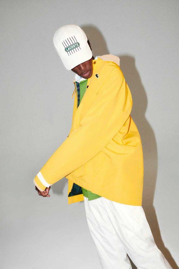 Lacoste Yellow Coat