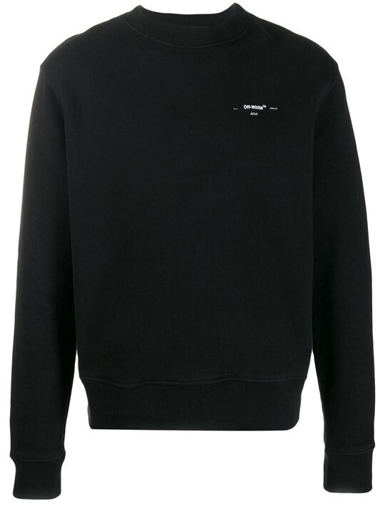 Off-White slim-fit sweater_