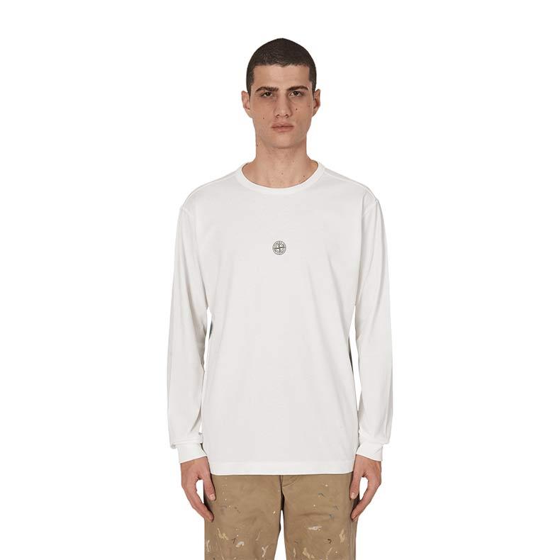 Stone Island Longsleeve T-Shirts. Was £185. Now £129
