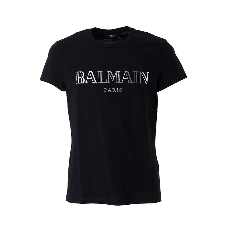 Balmain Black T-Shirt. Was £246.98. Now £172.88