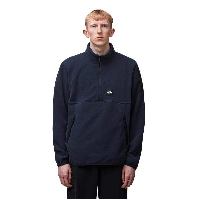 The North Face Bordura QZ Fleece in Urban Navy, reduced from £79 to £49