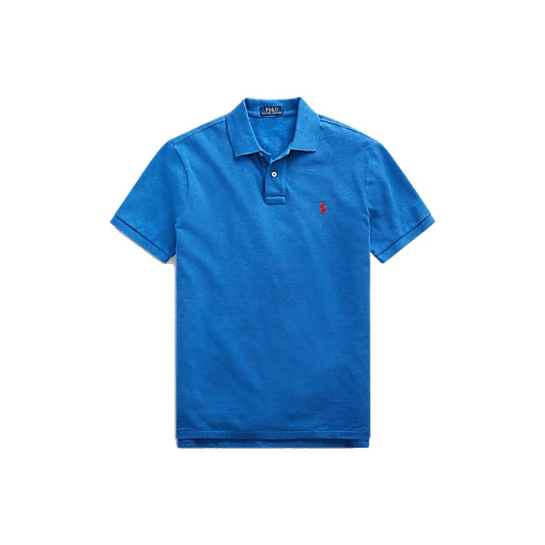 Polo Ralph Lauren Custom Slim Fit Mesh Polo, reduced from £80 to £56