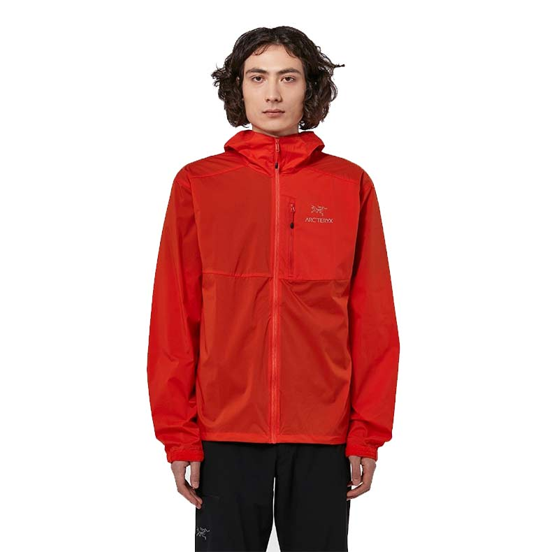 Arcteryx Squamish Hoodie in Orange, reduced from £129 to £89