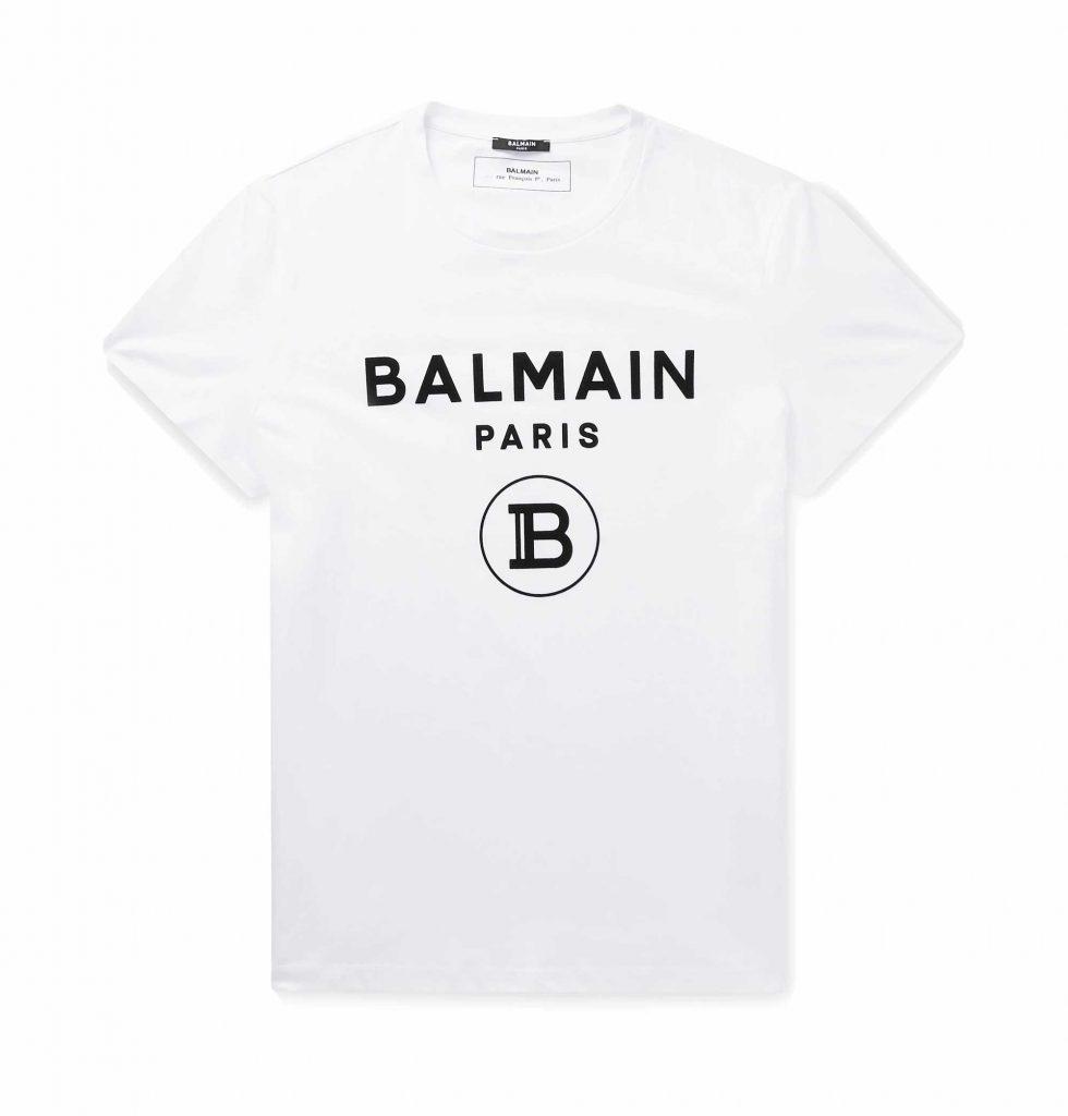 White Balmain Tshirt
