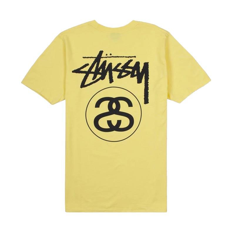 Yellow Stussy Tshirt