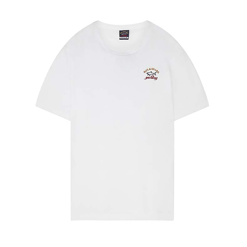 Paul & Shark Embroidered Logo T-Shirt White. Was £55. Now £
