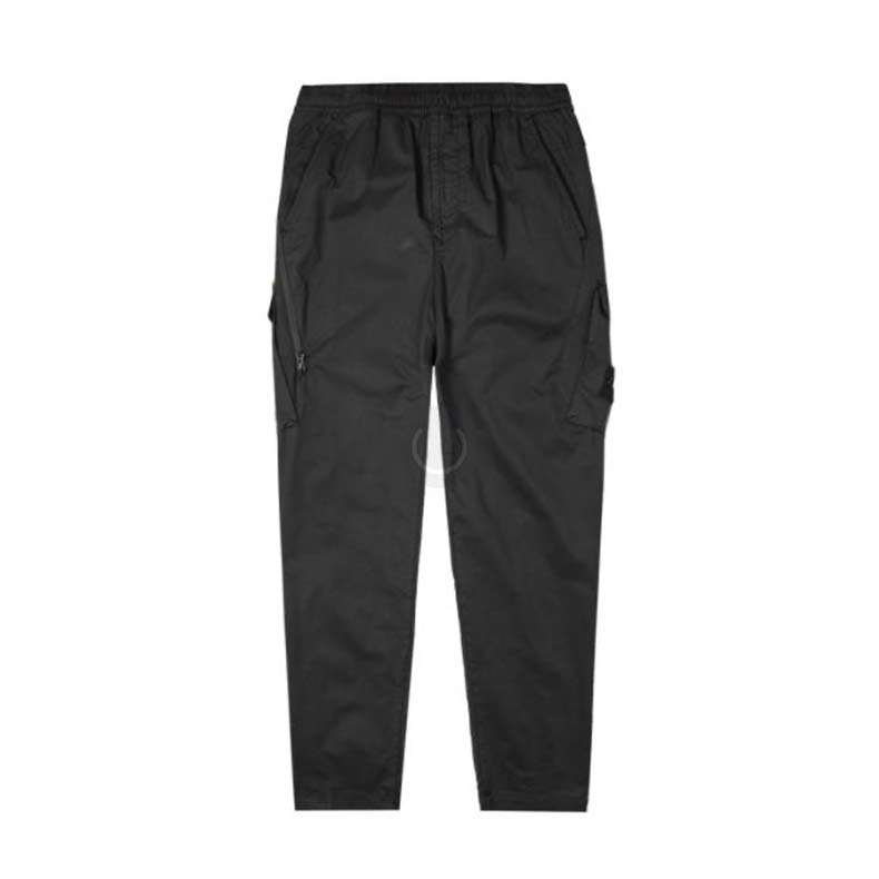 Stone Island Ghost Piece Cargo Trousers in Black, £325