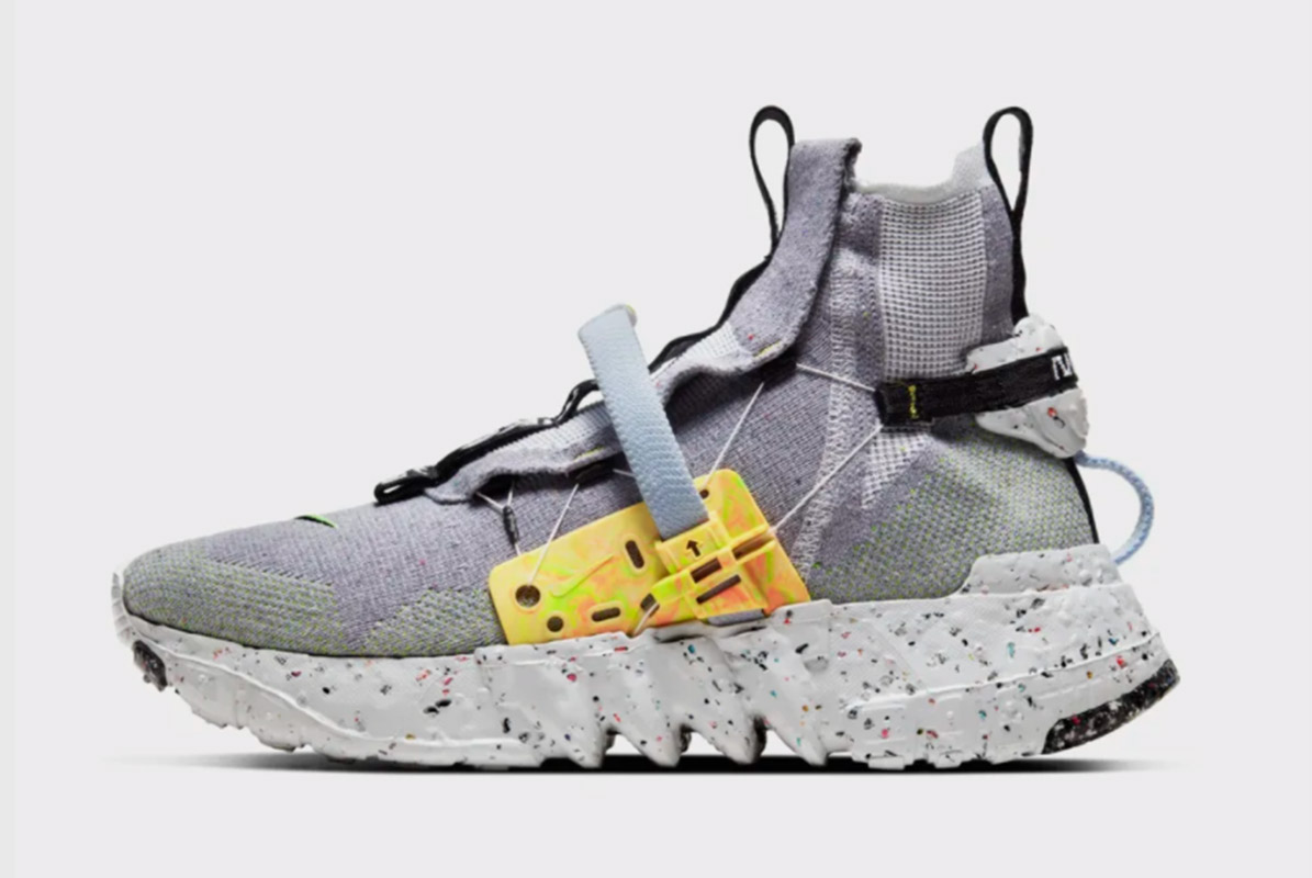 Nike's Space Hippie Collection Transforms Trash into Trainers 4