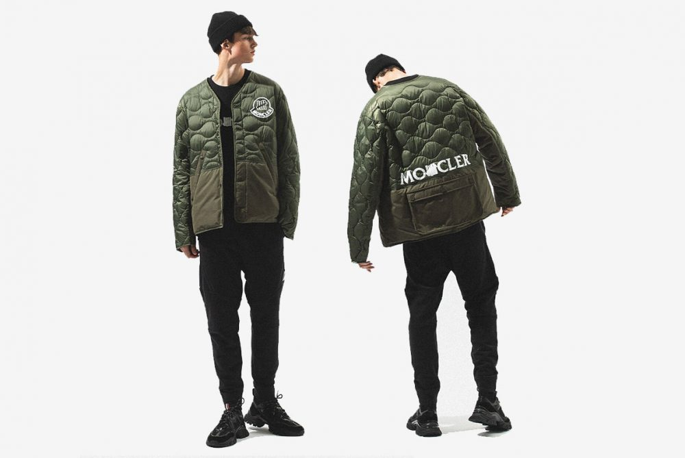 Moncler and UNDEFEATED Merge Functionality With Streetwear For FW20