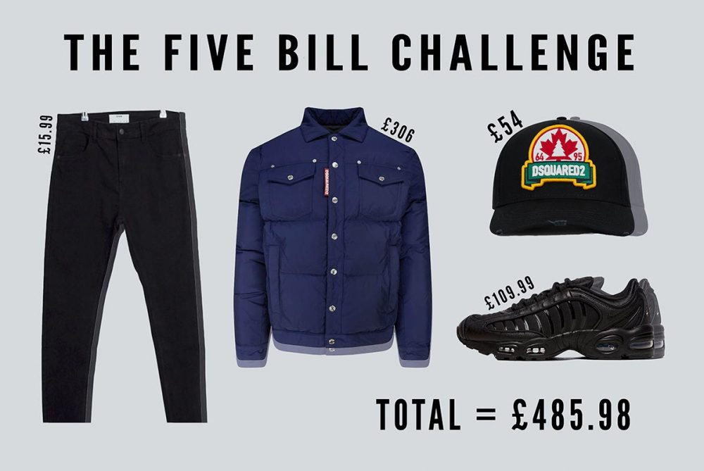 Five Bill Challenge A Designer Outfit for Less Than £500