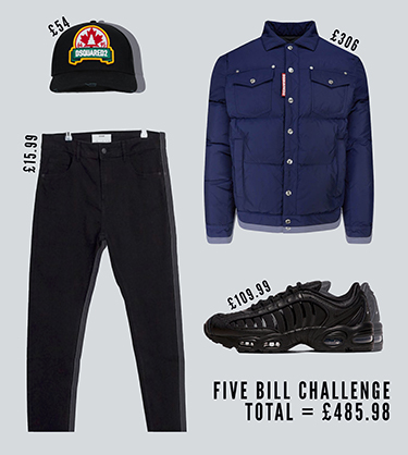 Five Bill Challenge A Designer Outfit for Less Than £500 Mobile