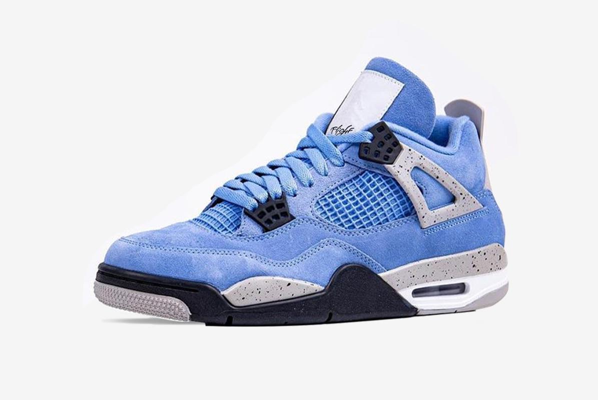 Air Jordan 4 University Blue RELEASE Date- 28th April 8am