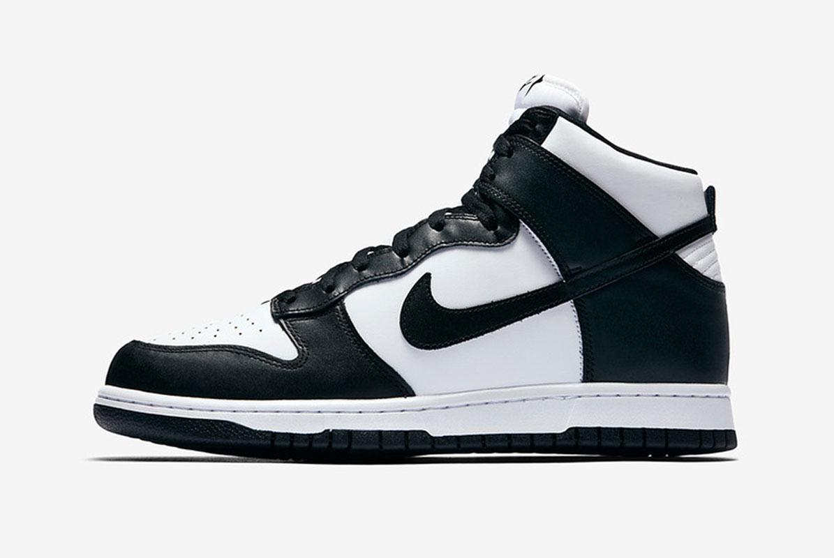 Nike Dunk High Retro Black White RELEASE Date - TBC