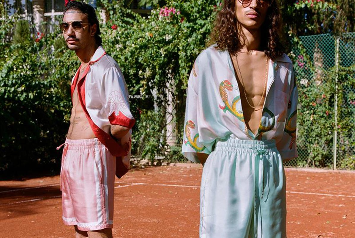 Men's clothing brand Casablanca now available at Cruise Fashion