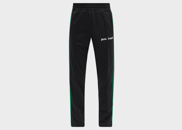 PALM ANGELS College side-stripe jersey track pants
