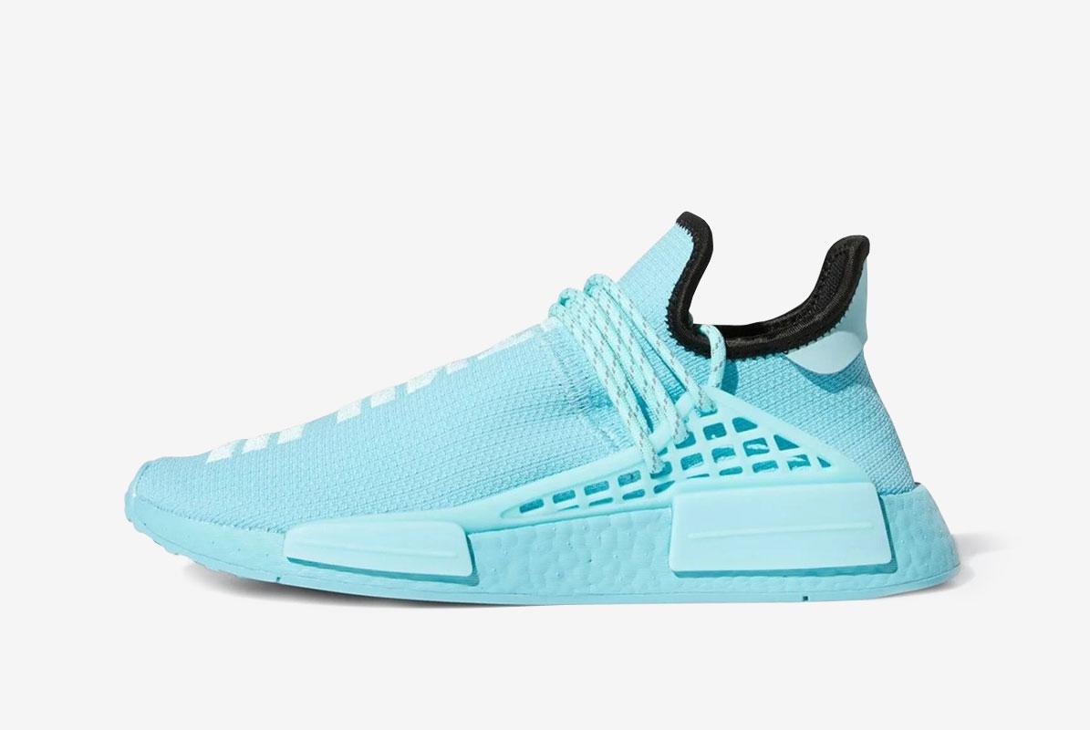 Pharrell Williams x adidas NMD Hu Blue RELEASE date - 24th April