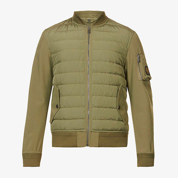 Belstaff Mantle Padded Shell-Down Jacket