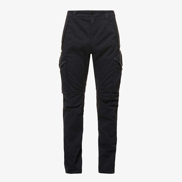 CP Company Mid-Rise Stretch Cotton Twill Trousers