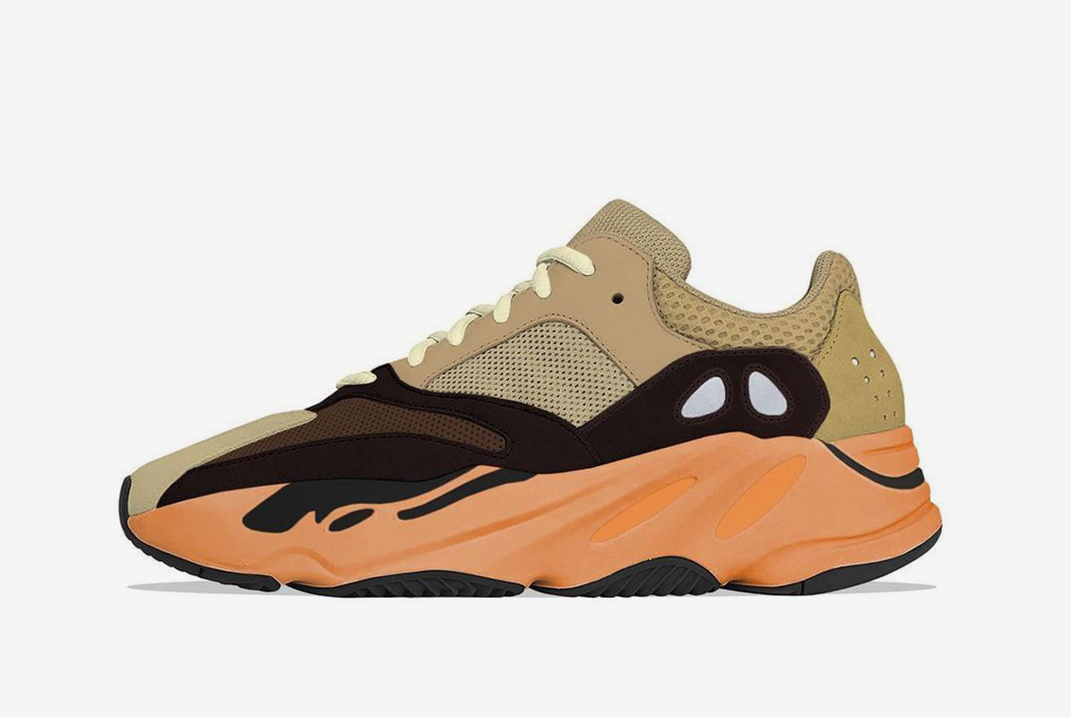 """YEEZY BOOST 700 v1 """"Enflame Amber"""" RELEASE Date - 11th June"""
