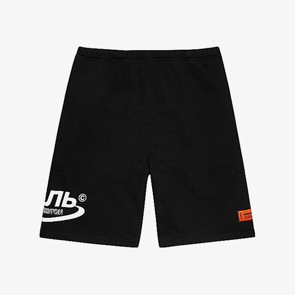 Heron Preston CTNMB Black Cotton Shorts