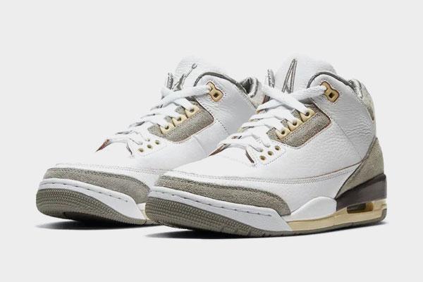 A Ma Maniere x Jordan 3 White RELEASE date – 21st April