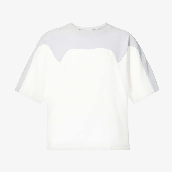 Pieces Uniques Arrow Relaxed Fit Stretch Jersey T-Shirt
