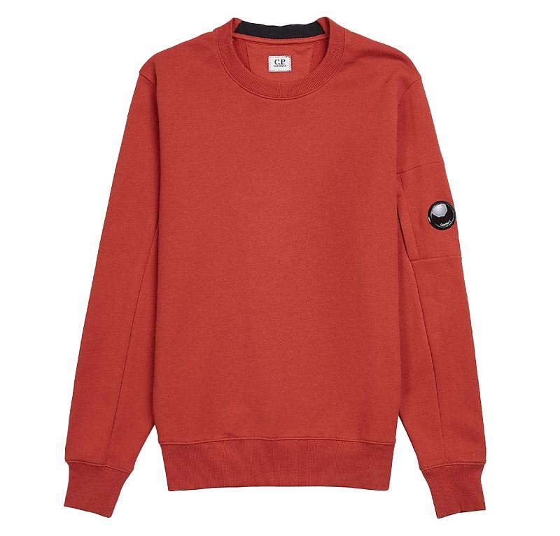 Zip Pocket Lens Fleece Sweatshirt