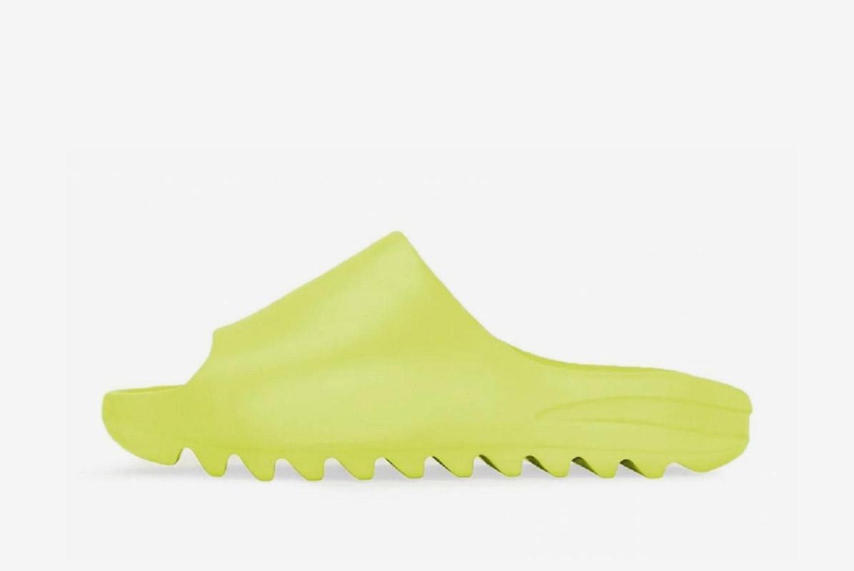 Yeezy Slide Glow Green