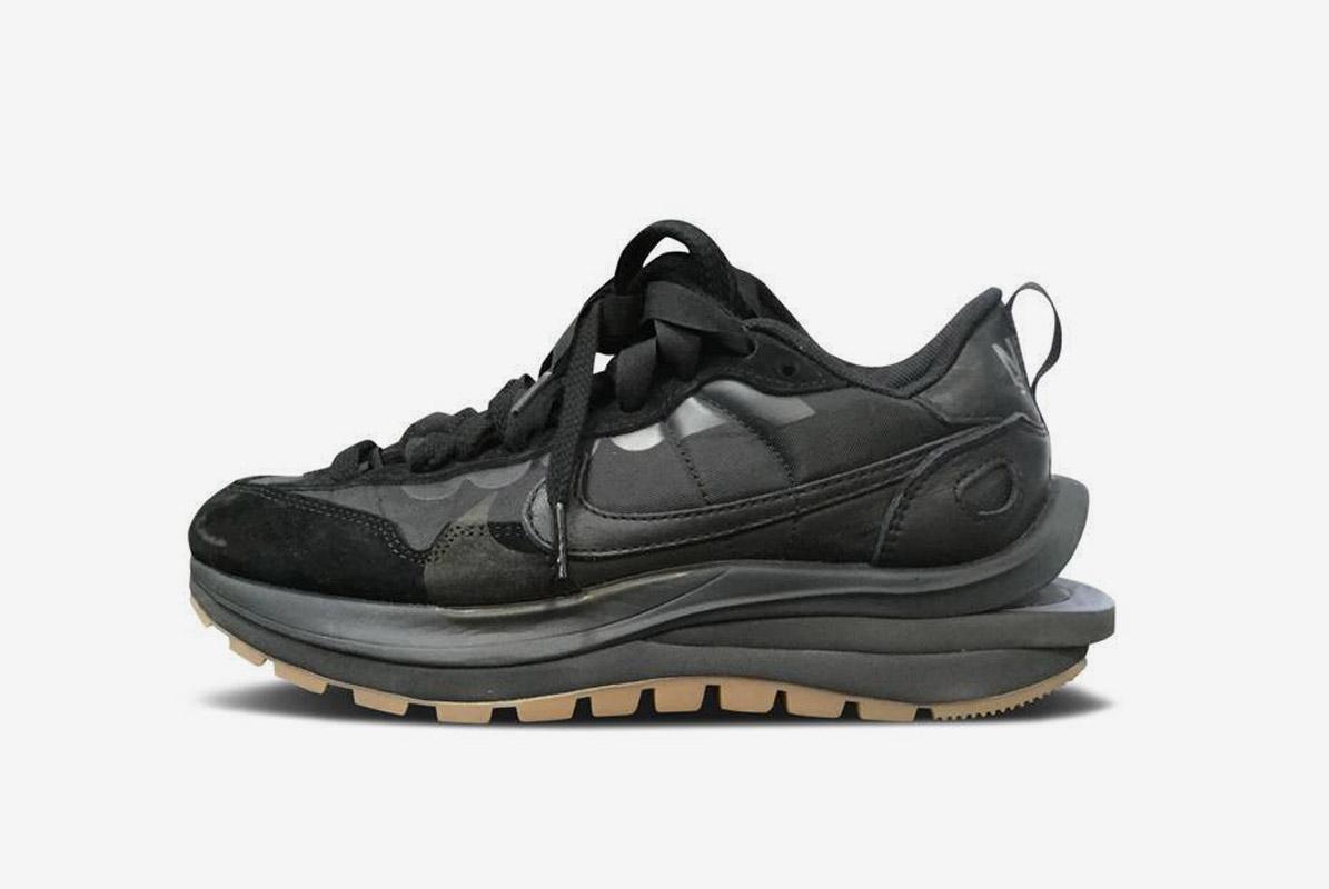 Sacai x Nike VaporWaffle Black Off Noir